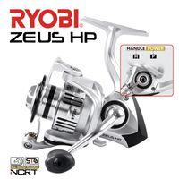 Ryobi Zeus HP bobinas de pesca girando 6 + 1BB 1000 2000 3000 4000 6000 8000 10kg Max Drag Engrenagem Relação 5./5.0:1 Roda de pesca de bobina