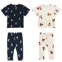 Kinder T-shirts Sommer Frühling Marke Design Jungen Mädchen Niedlichen Druck Kurzarm T-shirt Baby Kind Baumwolle Tops T Shirts Kleidung 210727