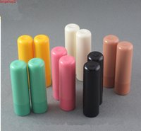 200 pcs 4g en plastique tube à lèvres en plastique vides emballage bouteille baume à lèvres baume cosmétique conteneurs de remplissage direct bons Qté
