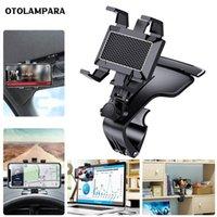 Tenedor de teléfono del automóvil, Tablero de instrumentos Topes de Intelligent Teléfonos 1200 Grados Móviles Móvil Soporte Retrovisor GPS Soportes de navegación para automóviles