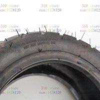 Livraison gratuite Pièces de moto 90/65-8 Roue avant et 130/50-8 pneus à tube à tubes de roue arrière pneus à vide de scooter électrique