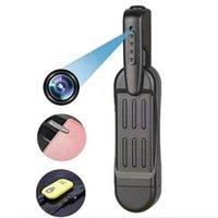 Dijital Ses Kaydedici T189 Kalem Mini Kamera Full HD 1080 P Gizli Giyilebilir Vücut DVR Cep Küçük Toplantı Kayıt Micro Kameralar