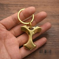 Brass Finger tool Duster Paperweight 48g CNC Machined EDC Personal Defense quickdraw Finger diameter boxing safe tools Fitness Supplies