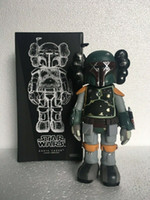 Горячие продажи KAWS оригинальные поддельных компаньонов действий фигура кукла модель украшения для детей игрушки подарок бесплатная доставка