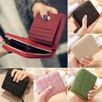 Wallets Fashion Women Ladies Small Coin Purse Card Zipper Folding Wallet Holder Mini Bag Clutch Handbag