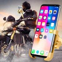 Téléphone de portable Montage des supports Moto Alliage d'aluminium Alliage Célular Motocycle Téléphone mobile Cyclone Cyclone SUPORTE SUPPORT DE TÉLÉPHONE