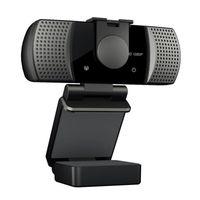 Webcams Full HD 1080P Webcam Webcam Webcam Telecamera USB grandangolare con microfono per PC per laptop in linea Teching Teching Conference live streaming