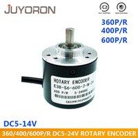 Controle Home Inteligente Codificador Rotativo Incremental 5-24V DC E38 S6 360/400/600 P / R Poelétrico AB Dois Fases 6mm Eixo