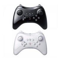 Hot para Nintend for Wii U Pro Controller USB Classic Dual Analog Bluetooth Bluetooth Remote Controlle para Wiiu Pro U Gamepad