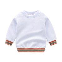 Primavera outono meninos meninos meninas suéteres crianças de algodão pulôver crianças manga comprida camisola criança camisola 2-7years