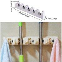 Neue Haushalt Mop Bürstenaufhänger Multifunktionale Küche Finishing Mop Rack Aufbewahrung Kleine Werkzeuge Großhandel