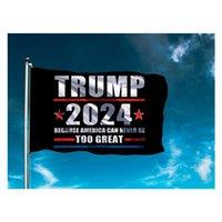트럼프 플래그 회장 선거 플래그 캠페인 배너 디지털 인쇄 지원 배너 플래그 가든 마당 ZZC5473