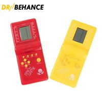 الكلاسيكية تتريس اليد الحنين مضيف لعبة لاعب عقد ألعاب الالعاب الإلكترونية للأطفال يلعبون متعة ألعاب الطوب ريدل يده E9999 50X