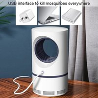 2021 USB Morden Wilent Lamps Режим аккумуляторной детской репеллентной антиэлектрической москитной лампы Mosquito с
