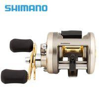 Baitcasting Reels Original Shimano CARDIFF 200A 201A 300A 301A 400A 401A Fishing Reel 4+1BB Gear Ratio5.8:1 Max Drag 5kg Saltwater