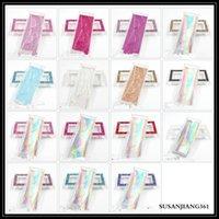 EPACK 속눈썹 상자 포장 속눈썹 상자 사용자 정의 도매 가짜 CILS 3D 밍크 속눈썹 스트립 책 스타일 자기 케이스 대량