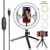 "10 ""Anel Light Camera Tripod Mini Titular Slip Clip Fill Beauty"