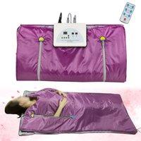 Novo Infravermelho Shaper Shaper Shaper Cobertor Aliviar Slimming Sauna Cobertor Therapy Therapy Slim Saco Spa Perda de Peso Body Detox Máquina