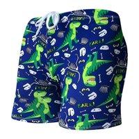 2020 أطفال الأطفال 3645454 جذوع السباحة السراويل لطيف الكرتون الطباعة مريحة شاطئ ملابس السباحة بالجملة حار بيع الشباب جميل