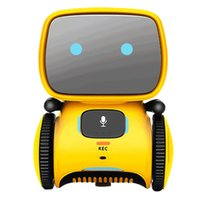 Newt Type Smart Robots Dance Voice Comd 3 Languag Versions Touch Control Toys Interactive Robot Cute Toy Gifts for Kids