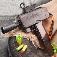 Novo Uzi Elétrico Elétrico Dardos Brinquedo Armas Seguras Espuma Bullet CS Jogo De Brinquedo Armas Brinquedo Divertido Crianças Presente De Aniversário Boy Boy