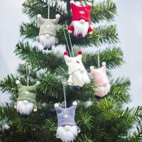 Stati Uniti Fotografia Stock Natale Handmade Swedish Gnome Scandinavo Tomte Santa Nisse Nordico Peluche Toy Tabella Ornament Xmas Tree Decorations