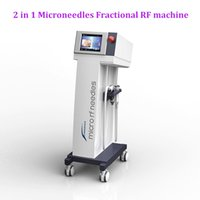 2 in 1 Fractional face lift professional RF microneedle machine skin tightening beauty equipment for sale