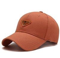 وسيم بلون الكرة قبعات الكرة الكلاسيكية المقلوبة المثلث مصمم المعادن البيسبول القبعات تنفس casquette قبعة قبعة 6 ألوان تسليم سريع