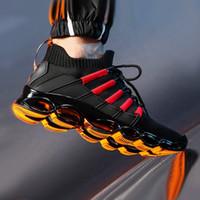 جديد بليد أحذية الرجال الأزياء تنفس أحذية رجالي عارضة أحذية كبيرة الحجم مريح الرياضة رجل 47 الركض 48 I87F #