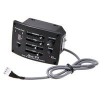 ACUS-4TR 4 Brand EQ Pre-Amp التعادل موالف التقاط الغيتار الصوتية نشط لا البطارية