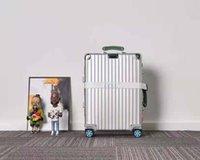 Ri Yeni Seyahat Stil Seyahat Bavul Bagaj Moda Erkekler Kadınlar Gövde Bavul Çanta Çubuk Kutusu Spinner Evrensel Tekerlek Duffel Bavullar