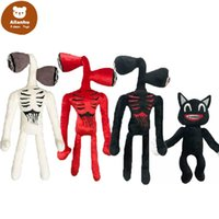 2021 Plush Toy Cartoon Stuffed Animals Doll Horror Black Cat Peluches Toys for Kids Christmas Gift gr