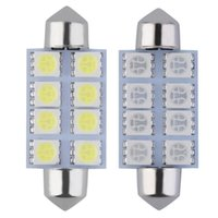 Emergency Lights 10pcs 42MM Car Interior LED Light SMD Auto Super Bright Doom Lamp Automobiles Accessories