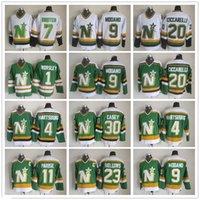 CCM Minnesota North Dallas Stars Hockey Jerseys 1 Gump Wortsley 9 Mike Modano 20 Dino Ciccarelli 11 JP Parise 4 Craig Hartsburg Jersey