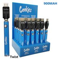 Батареи COEKEOS 510 резьбовые резьбы нагревая VV батарея 900 мАч нижняя напряжение регулируемое USB зарядное устройство Vape Pen 30 шт. С дисплеем коробка 30 шт. / Лот