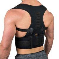 Back Support Erwachsene Korsett Schulter lumbäre Haltung Korrektor Bandage Rückengurt Magnetische Therapiekorrektur