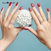 HBP fashion exquisite small fresh Japanese and Korean style light luxury simulation diamond set zircon ring jewelry
