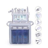 Lager i USA Multifunktionell 6In1 H2O2 Liten Bubbla Maskin Vattenbruk Hud Syre Facial Skönhet Hudvård Skönhetsinstrument