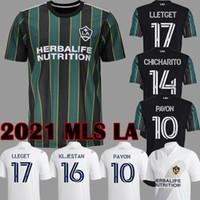 جديد MLS 21 22 La غالاكسي كرة القدم الفانيلة لوس أنجلوس FC لكرة القدم قمصان 2021 2022 CF Chicharito Pavon J.Dos Santosmen الرجال الاطفال
