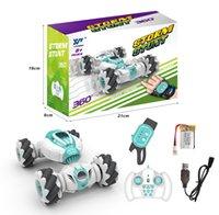 2.4G jest indüksiyon deformasyonu uzaktan kumanda araba sürüklenen yaygın mini büküm dublör araba oyuncak