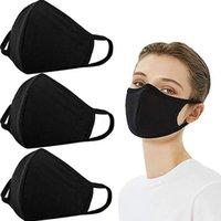 Organische Labore atmen Gesicht PM2.5 weiß mit 100% Baumwolle waschbar wiederverwendbare Stoffmasken Schutz vor Staubpollen Pet Dander DHB62