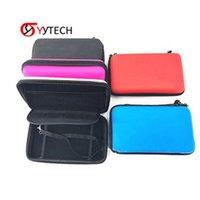 Syytech Travel Carry EVA Controller Case protectora doble cremallera bolsa gruesa bolsa de polvo para 2DS LL / XL Accesorios
