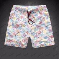 21SS Moda de verano para hombre Traje de baño Pantalones cortos de playa Calidad Casual Surf Polo Hombres Tablero Pantalones de natación cortos Tamaño M-3XL