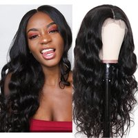 13*4 Lace Front Wig Transparent Body Wave Peruvian Virgin Big Wavy Human Hair Naturalhairline Bleach Knots Pre Plucked