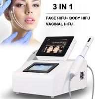 2021 3IN1 HIFU лица, поднятие вагинального удаления морщин для вагинального тела для похудения омоложение кожи красота оборудование