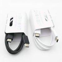Note 100% originale 10 USB Type C à Câble TypeC pour Samsung Note 10 Support PD QC3.0 Charge rapide pour les périphériques de type C