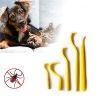 5 ADET / SET KARP SINIRLAYICI Kanca Klip Aracı Köpek Kedi Keneler Seçici Bit Temizleme Aracı Pet Tarak Taşınabilir Pet Malzemeleri JK2005KD