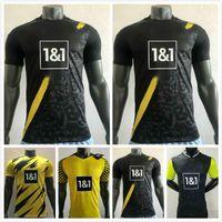 Jogador versão 20 21 21 2022 Dortmund Edição limitada de futebol jersey haaland reus borussia 110th 2021 2022 uniformes de futebol verde Bellingham Sancho Hummels Brandt