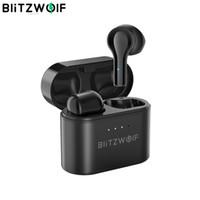 Blitzwolf Wireless Headset BW-FYE9, Bluetooth V5.0, Audioausrüstung, Medien, DSP, Geräuschreduzierung, geringe Verzögerung, Kabelmikrofon, TWS