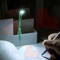 도서 조명 밤 조명 클립 미니 휴대용 LED 독서 램프 에너지 절약형 여행 침실 폴더의 유연한